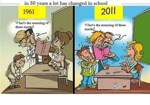 teaching-then-now